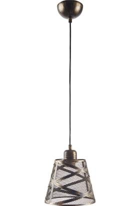 Light Home Sarper Eskitme Metal Sarkıt Avize