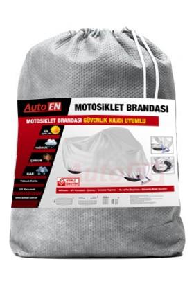 AutoEN Kuba KB150-25 Motosiklet Brandası (Arka Çanta,Topcase ve Güvenlik Kilidi Uyumlu)
