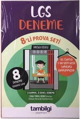 Tam Bilgi Yayınları 8. Sınıf Paket Deneme - 8'Lİ LGS PROVASI
