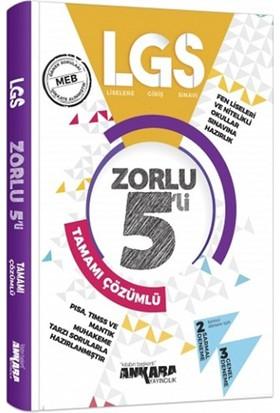 Ankara Yayıncılık LGS Zorlu Tamamı Çözümlü 5 Deneme