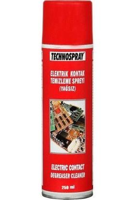 Technospray Elektrik Kontak Temizleme Spreyi (Yağsız)