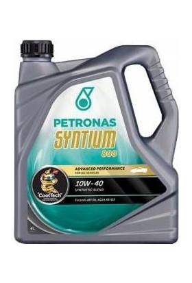 Petronas Ptr Syntıum 800 Eu 10W/40 4Lt (Acea A3/B4) Ocak 2018