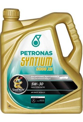 Petronas Syntıum 5000 Xs 5W/30 4 lt Aralık 2017