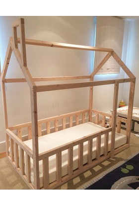 Köşk Mobilya Montessori Yatak-Genç-Çocuk-Bebek Karyolası