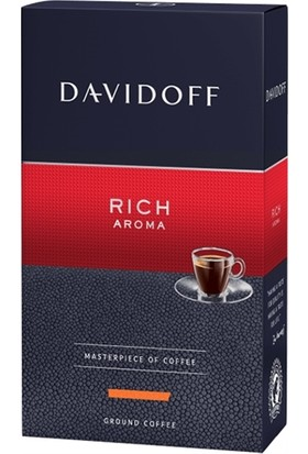 Davidoff Cafe Rich Aroma Öğütülmüş Filtre Kahve %100 Arabica 250 gr.