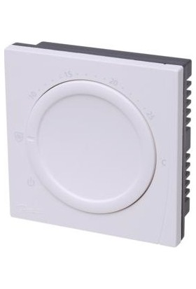 Danfoss Wt-T Basic Plus 2 Oda Termostatı Kadranlı Yüzey Tip