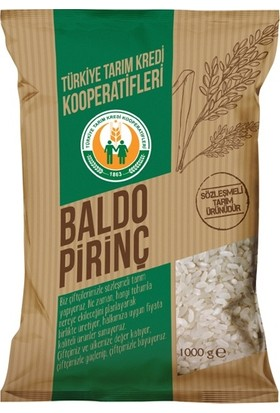 Tarım Kredi Baldo Pirinç 1 kg
