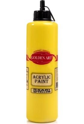 Hobi24 Golden Art Akrilik Boya 500ml - 020 Sarı