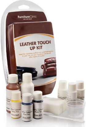 Furniture Clinic Deri Onarım Ve Rötuş Boya Seti – 200 ml-Orta Kahverengi