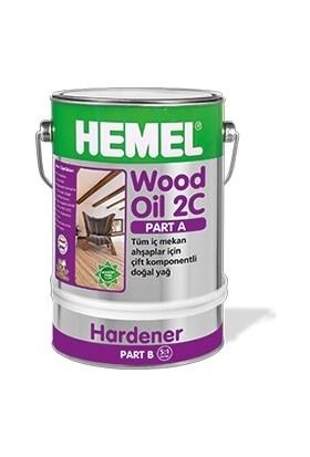 Hemel Wood Oil 2C Set Yağ İç Mekan 3 Lt