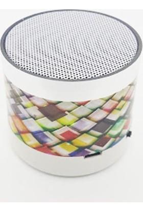 Music Mini Bluetooth Hoparlör Işıklı