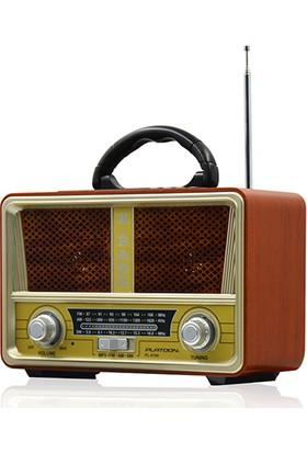 Syronix Radyo Pl-4194 Bluetooth Speaker Fm/Sd/Usb Nostaljik Radyo