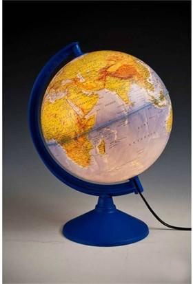 Işıklı Fiziki Küre 26Cm(Fiz+Siy)