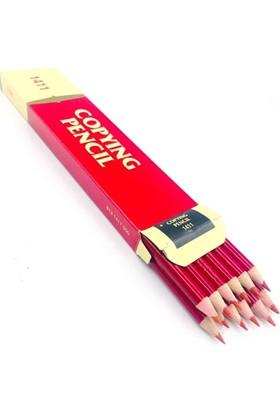 Adel | Kırmızı Kopya Kalemi 12 Li