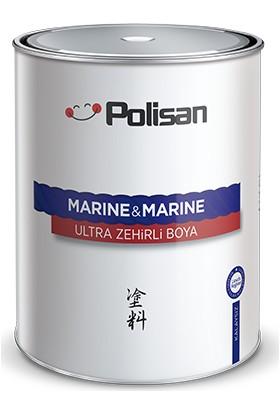Polisan Marine&Marine Anti Aging Ultra Zehirli Boya Beyaz 1 Kg