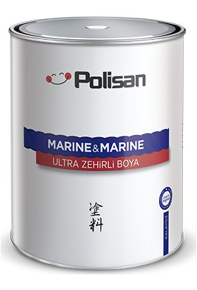 Polisan Marine&Marine Anti Aging Ultra Zehirli Boya Mavi 1 Kg