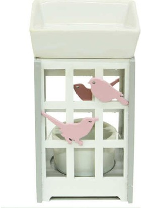 Mory Concept Buhurdanlık Ahşap Kuş Desenli