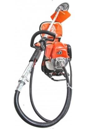 Swazer 4 Hp 4 Zamanlı Sırt Tipi Benzinli Motorlu Tırpan Ot Çim Çayır Biçme Kesme Makinesi Bp52