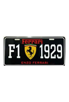 Sibiro Dekoratif Plaka Ferrari F1