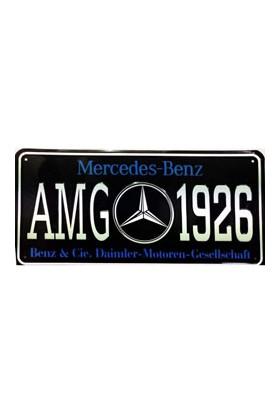 Sibiro Dekoratif Plaka AMG 1926 Mercedes
