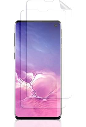 Case 4U Samsung Galaxy S10 Cam Ekran Koruyucu 360 Zum Body Şeffaf
