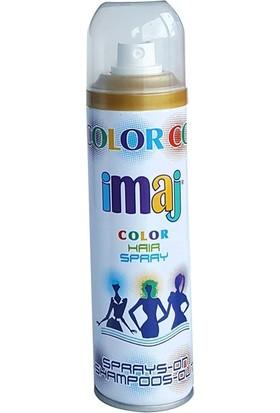 Imaj Color Saç Spreyi Sarı 100 ml