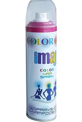 Imaj Color Saç Spreyi Pembe 100 ml