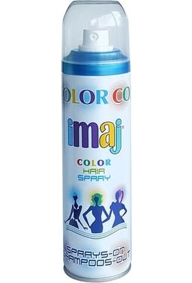 Imaj Color Saç Spreyi Mavi 100 ml