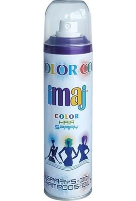 Imaj Color Saç Spreyi Mor 100 ml