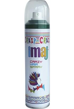 Imaj Crazy Saç Spreyi Yeşil 100 ml