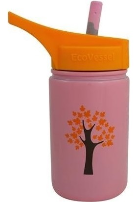 Eco Vessel Scout Kids Bottle With Straw 0.40 Lt Termos