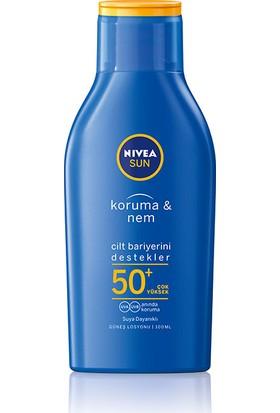 Nivea Sun Koruma & Nemlendirici Losyon Gkf 50+ 100 ml