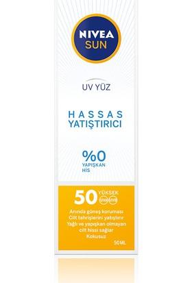 Nivea Sun Uv Yüz Hassas Yatıştırıcı Krem Gkf 50 50 ml