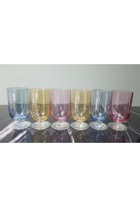 Bohemi̇a Crystal 3 Renk Kahve Yanı Su Bardagı