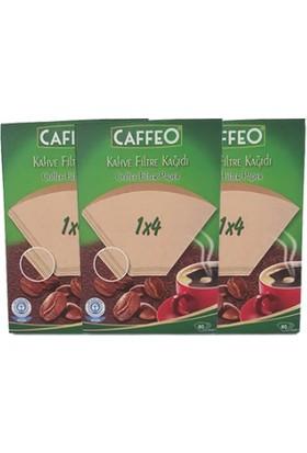 Caffeo 80Li Filtre Kahve Kağıdı 1X4 * 3 Adet