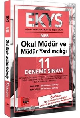 Yargı Yayınevi EKYS Meb Okul Müdür Ve Müdür Yardımcılığı 11 Deneme Sınavı - Fatih Öncü