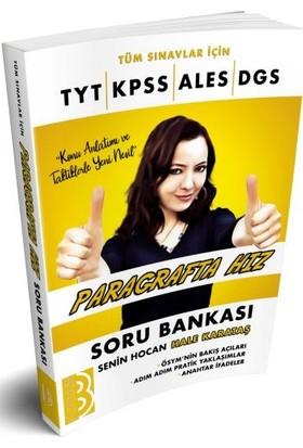 Benim Hocam Yayınları Tüm Sınavlar İçin Paragrafta Hız Soru Bankası - Hale Karataş