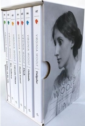 Virginia Woolf Seti (7 Kitap) - Virginia Woolf