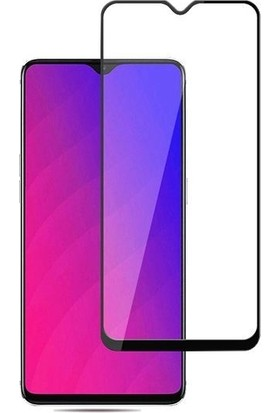 Teleplus Oppo RX17 Neo Tam Kapatan Cam Ekran Koruyucu Siyah