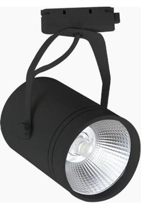 Lamptıme Led Ray Spot 10W Siyah Gövde 6500K Beyaz Işık