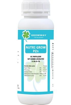 Growway Nutri Grow Pzn Gübre Çözeltisi 1Lt