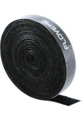 Floveme Vendas Kablo Sarıcı Ve Toplayıcı Organizer - Siyah 5 Mt