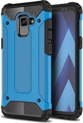 59d816f90bb52 Jopus Samsung Galaxy A8 Plus 2018 Kılıf Ultra Lüx Çift Katmanlı Darbe Emici  Crash Kılıf ...