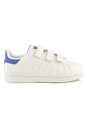 M.P 191-5466-004 PT Beyaz Mavi Çocuk Ayakkabı