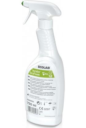 Ecolab İncidin Oxyfoam Alkolsüz Yüzey Dezenfektanı 750 ml