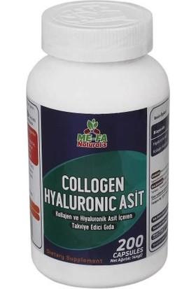 Me-Fa Naturals Collagen ve Hyaluronic Asit 200 Kapsül