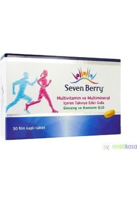 Seven Berry Ginseng ve Koenzim Q10 30 Tablet
