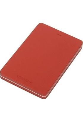 "Toshiba Canvio ALU 2TB 2.5"" Kırmızı Taşınabilir Disk HDTH320ER3AB"