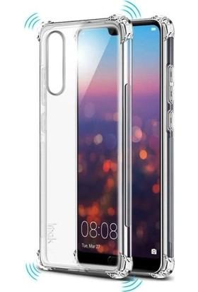 Casestore Huawei P20 Lite Kılıf Ultra Lüx Özel Dört Köşeli Anti Crack Silikon TPU Kılıf