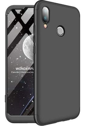 Casestore Huawei Honor Play Ön Arka 360 Derece Korumalı Sert Silikon Kılıf